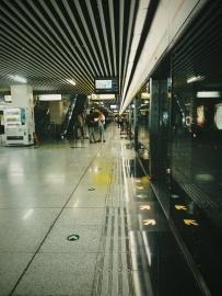 #我用 VSCO 修图# 地铁站