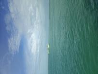 风暴过后的晴朗海面