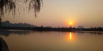 pro2 公园的落日