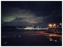 分享几张晚上跑步时拍的夜景