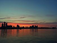 清晨的风景